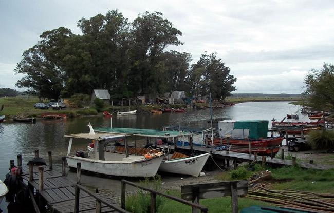 Arroyo Valizas - Muelle sobre el puente