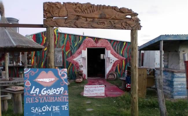 Restaurantes en Cabo Polonio - La Golosa