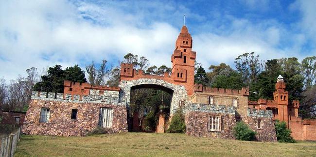 Castillo Pittamiglio en Las Flores