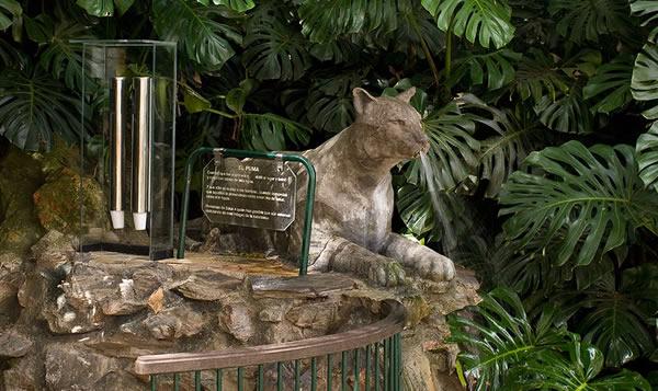 Fuente del Puma en Paruqe Salus, Minas
