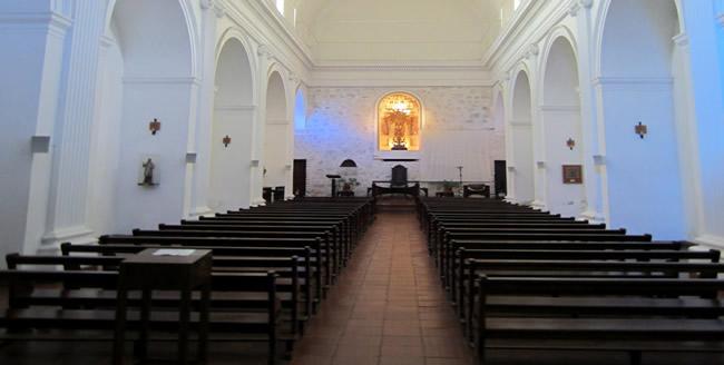 Interior de la Basílica del Santísimo Sacramento en Colonia