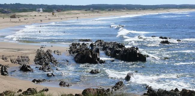 Playas de La Pedrera en Rocha