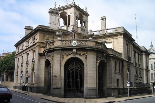 Palacio Taranco en Montevideo