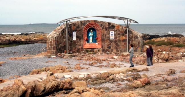 Virgen de La Candelaria en Playa El Emir
