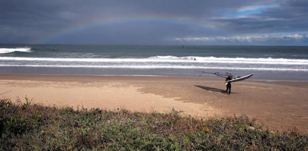 Playa Grande en Punta del Diablo - Uruguay