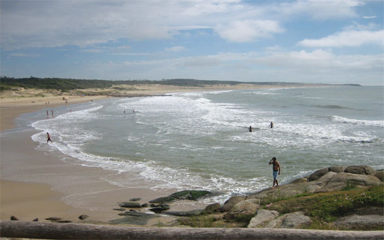 Playa del Parque Nacional de Santa Teresa