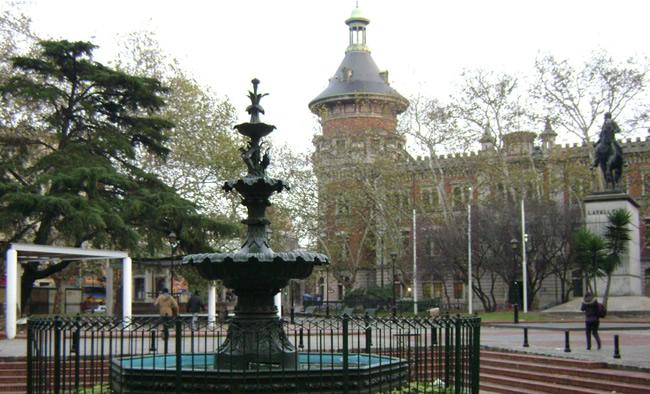 Plaza de los 33 Orientales en Montevideo