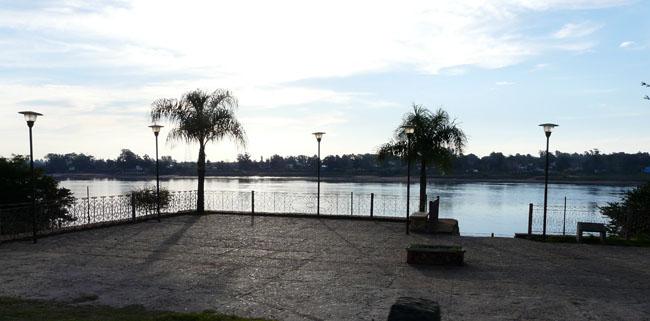 Río Uruguay en Salto