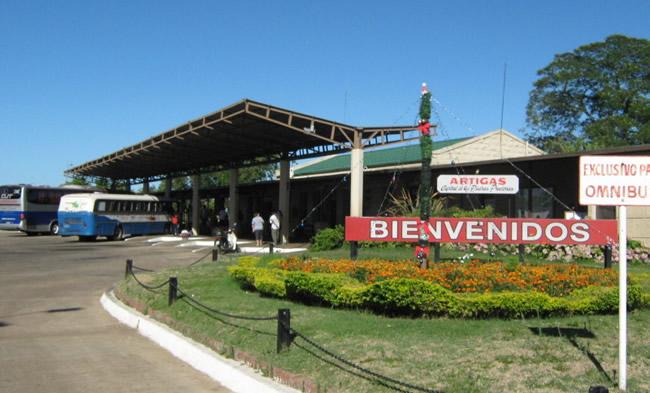 Información sobre ciudad de Artigas - Terminal de Ómnibus de Artigas